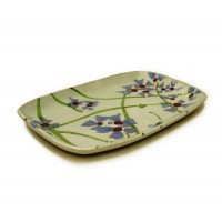 "Dish 14"" - Scattered Flowers pattern"
