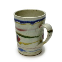 "4.5"" Mug with bands"