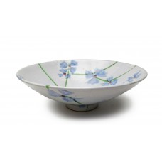 "Bowl 13"" d. - Scattered Flowers"
