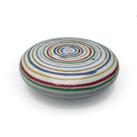 "Cushion 10""d. - Banded"