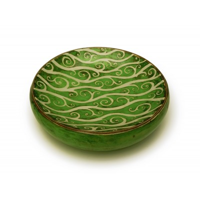 Fat Dish 26cm - Green Woodland