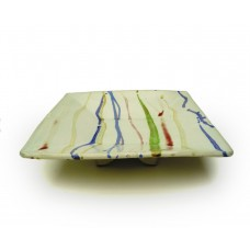 Square Dish 25cm w. - Banded