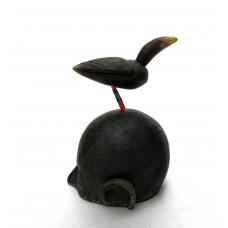 Bird on Head - Sculpture