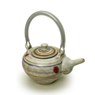 Teapot with bands