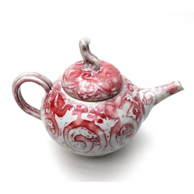 Teapot - red resist