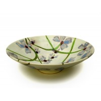 "Bowl 13½""d. - Scattered Flowers"