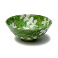 "Bowl 7½""d. - Green Leaf"
