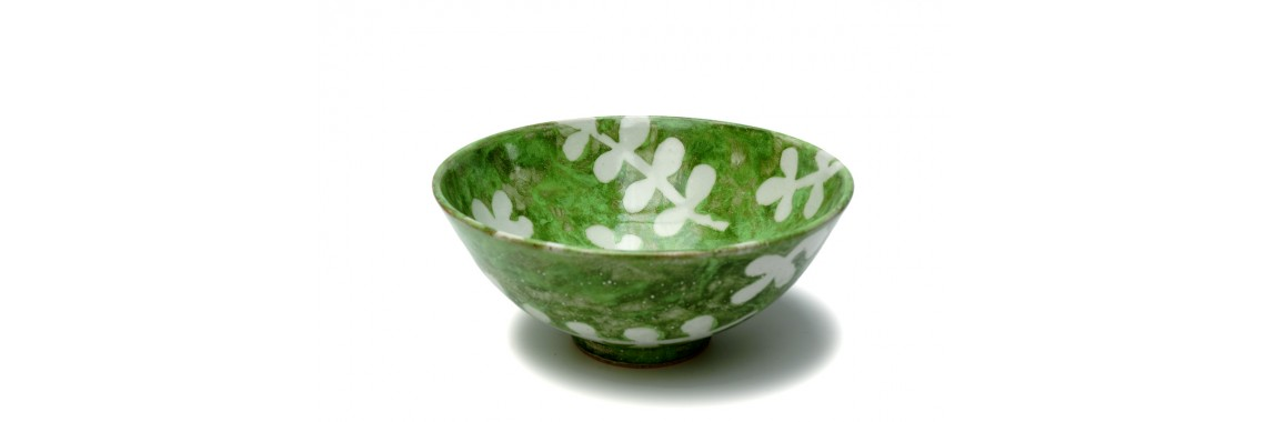 Bowl - Green Leaf