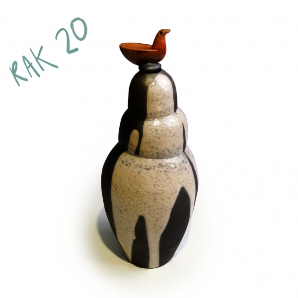 Tall Bottle with Bird - RAK20